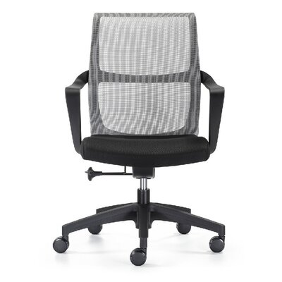 Woodstock Marketing Ravi Mid-Back Mesh Task Chair with Arms
