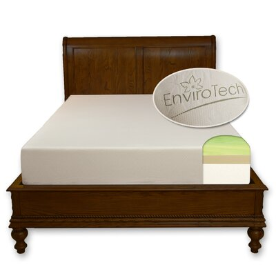 EnviroTech 10'' Gel Memory Foam Mattress