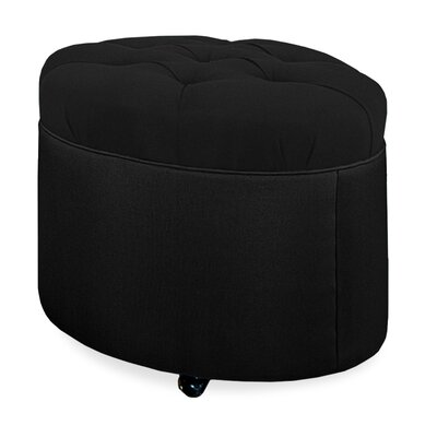 Tory Furniture Mondo Tufted Round Ottoman