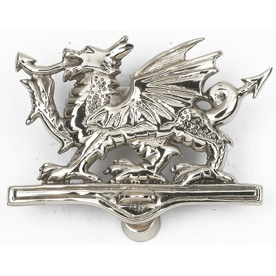 Black country metal works welsh dragon door knocker wayfair uk - Dragon door knockers for sale ...