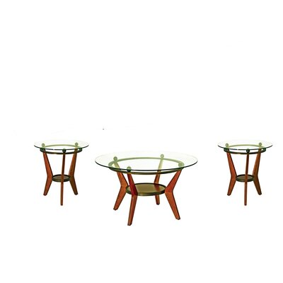 Brady Furniture Industries Maywood 3 Piece Coffee Table Set