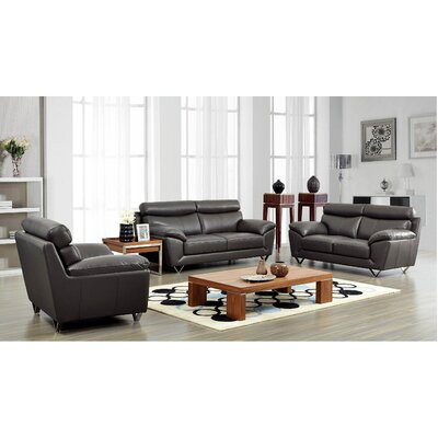 Brady Furniture Industries Noci Leather Living Room Collection