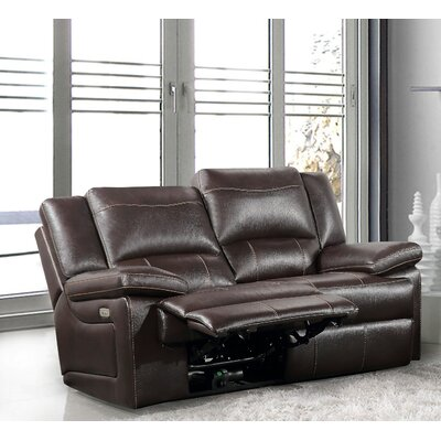 Brady Furniture Industries Adele Power Reclining Loveseat