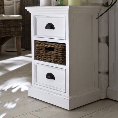 NovaSolo Halifax 2 Drawer Nightstand