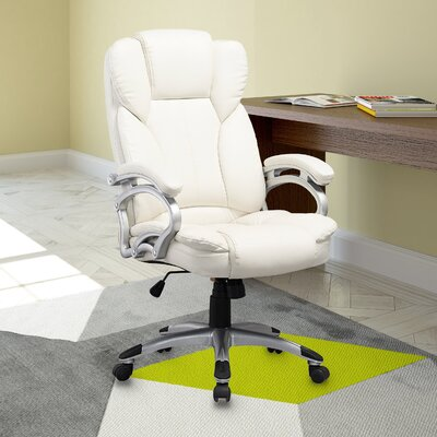 Wade Logan Roach High-Back Executive Office Chair with Arms