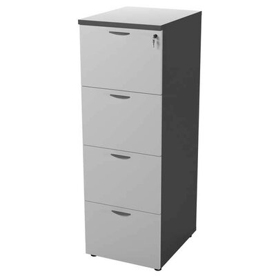 Symple Stuff 4 Drawers Tall Filing Cabinet