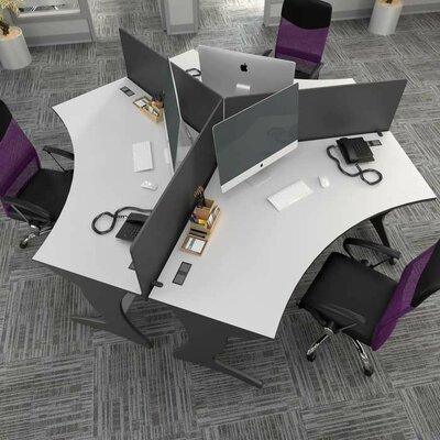 CorLiving Workspace Credenza Desk Set