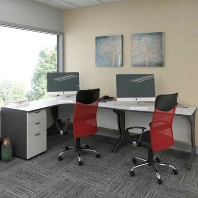 CorLiving Workspace Executive Desk Set..