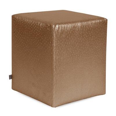 Howard Elliott Ostrich Universal Cube Ottoman