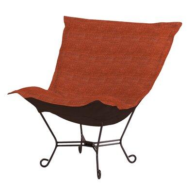 Howard Elliott Puff Scroll Lounge chair