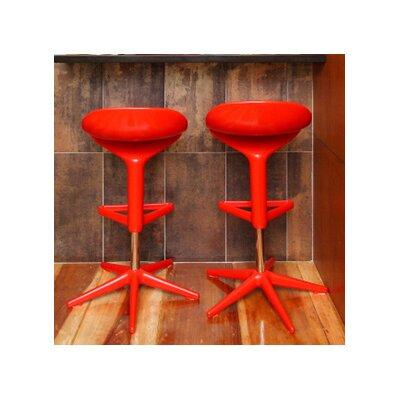 Bienal Adjustable Height Swivel Bar Stool (Set of 2)