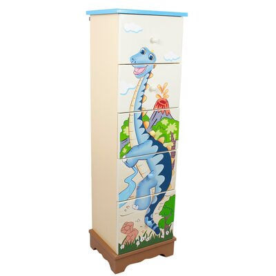 Fantasy Fields Dinosaur Kingdom 5 Drawer Cabinet