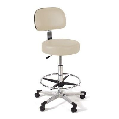 Intensa Height Adjustable Lab Stool with Single Lever Release