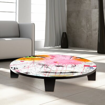 TAF DECOR Quite Frankly Coffee Table