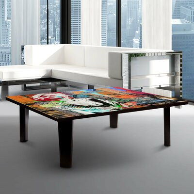 TAF DECOR Don't Be Cold Show Me Your Soul Coffee Table