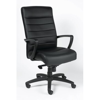 Eurotech Seating Manchester High-Back Leather Executive Chair with Arms