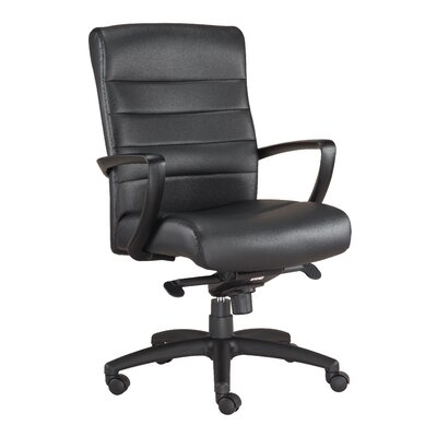 Eurotech Seating Manchester Mid-Back Leather Executive Chair