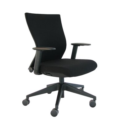 Eurotech Seating High-Back Executive Office Chair with Adjustable Arms