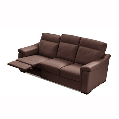 Latitude Run State Line Leather Dual Reclining Sofa