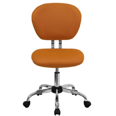Zipcode™ Design Mid-Back Adjustable Office Chair in Tangerine