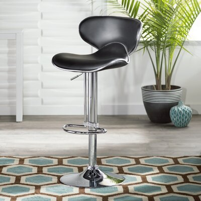 Zipcode™ Design Francine Adjustable Height Swivel Bar Stool