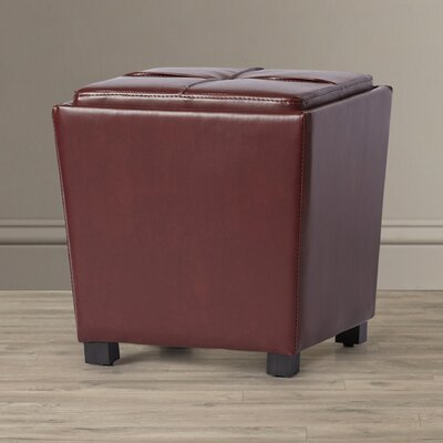 Zipcode™ Design Jared 2-Piece Leather Ottoman Set