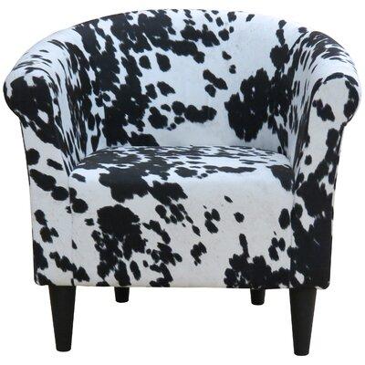 Zipcode™ Design Liam Cowhide Barrel Chair