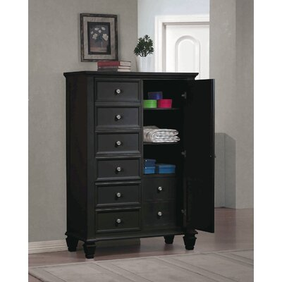 Wildon Home ® Sandy Beach 8 Drawer Gentleman's Chest