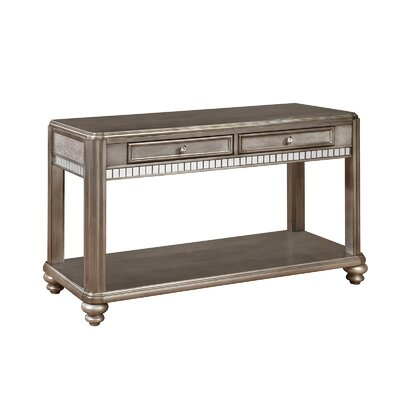 Wildon Home ® Bling Game Console Table