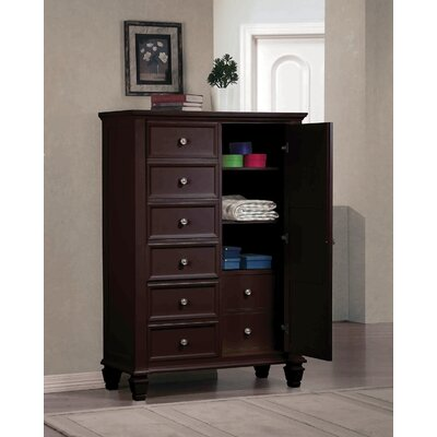 Wildon Home ® Sandy Beach 8 Drawer Gentleman&#..