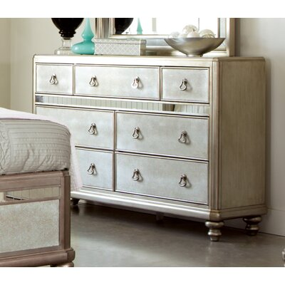 Wildon Home ® Bling Game 7 Drawer Dresser