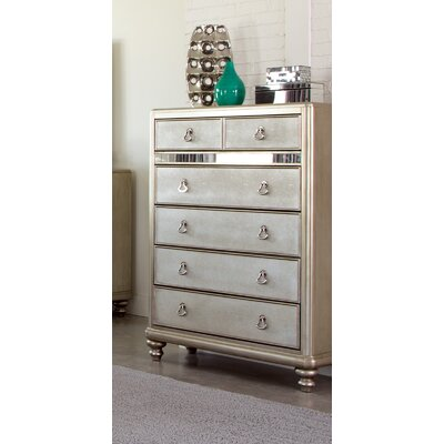 Wildon Home ® Bling 6 Drawer Chest