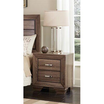 Wildon Home ® Kauffman 2 Drawer Nightstand