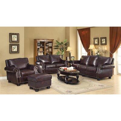 Wildon Home ® Briscoe Leather Modular Sofa