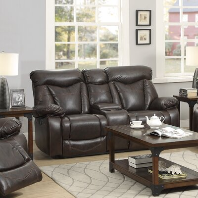 Wildon Home ® Zimmerman Power Leather Re..