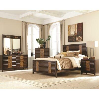 Wildon Home ® Dublin Panel Customizable Bedroom..