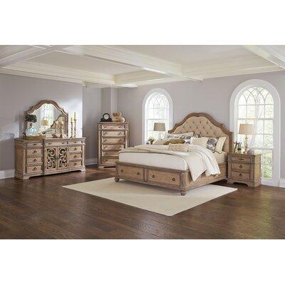 Wildon Home ® Ilana Upholstered 3 Piece Bedroom Set