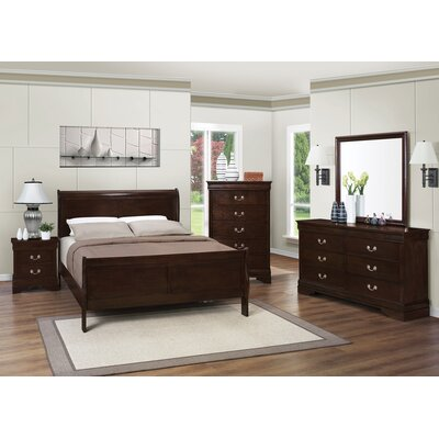 Charlton Home Richard Panel Customizable Bedroom Set