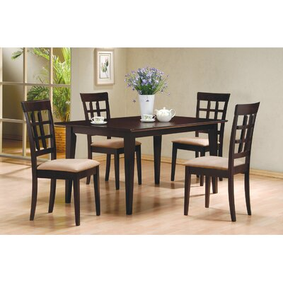 Charlton Home Greensburg 5 Piece Dining Set