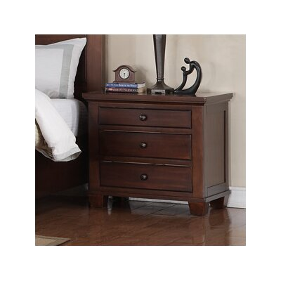 Flair Franklin 3 Drawer Bachelor's Chest