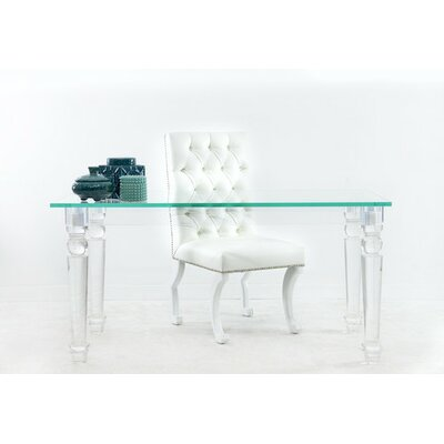 ModShop Lucite Beverly Hills Writing Desk