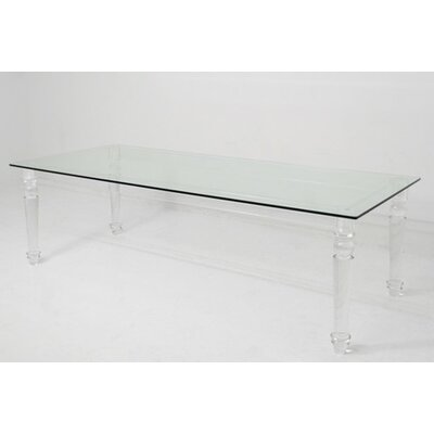 ModShop Lucite Beverly Hills Dining Table