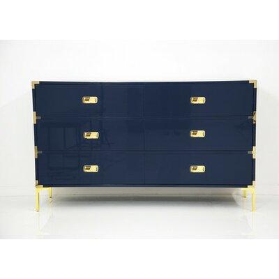 ModShop Jet Setter 6 Drawer Dresser