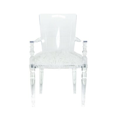 ModShop Juliette Lucite Arm Chair