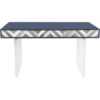 ModShop Capri Writing Desk with Lucite Leg