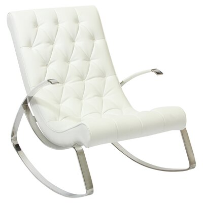 Home Loft Concepts Gregory Tufted Rocking Chair