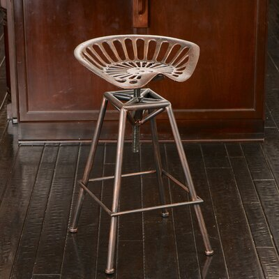 Home Loft Concepts Adjustable Height Bar Stool