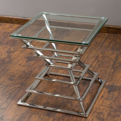 Home Loft Concepts Pagoda End Table