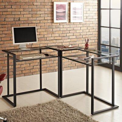 Mercury Row Corner C-Frame Computer Desk