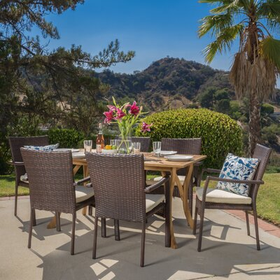 . Home Loft Concepts Rincon 7 Piece Dining Set   Reviews   Wayfair